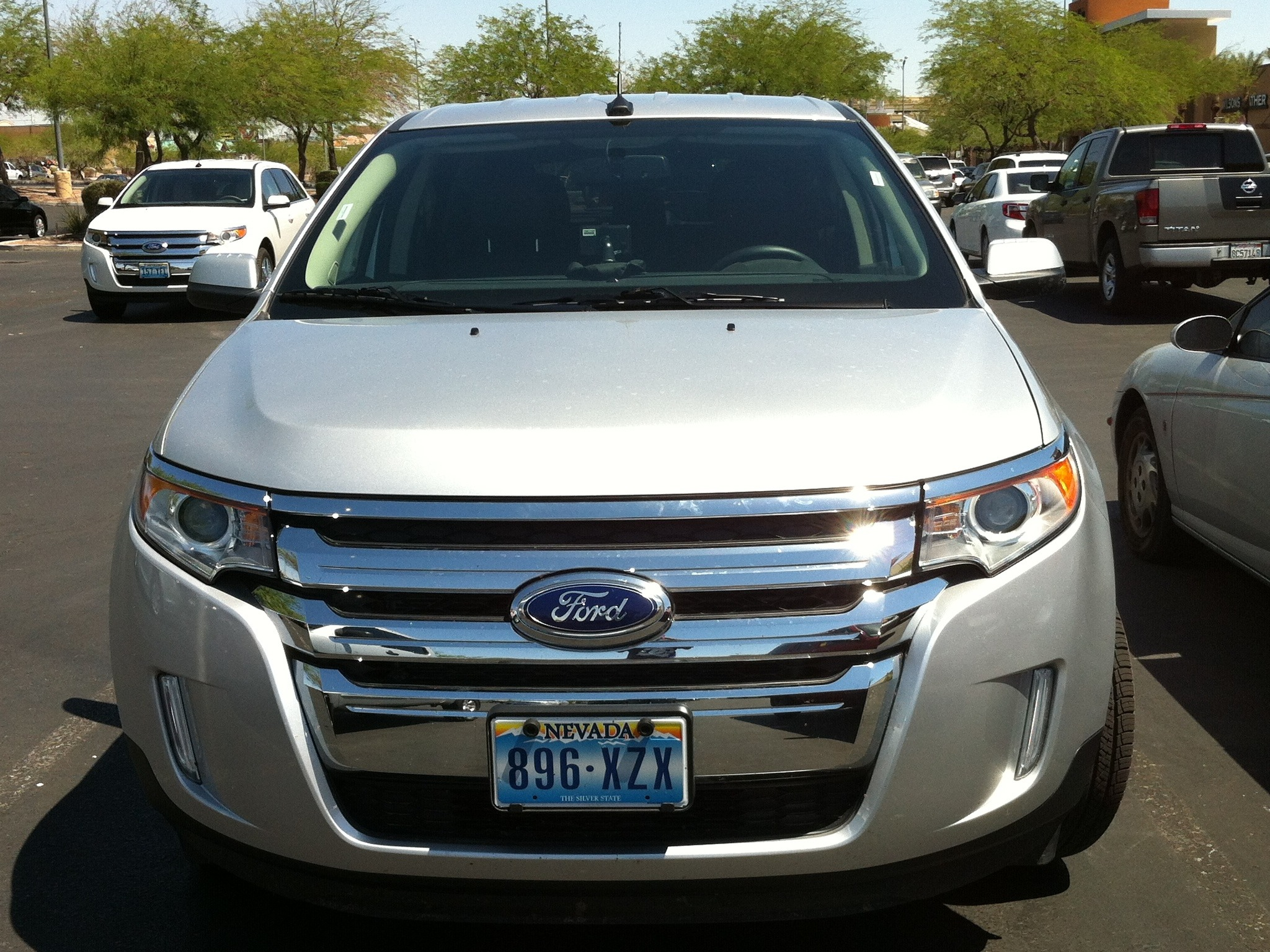 Ford Edge  At The Las Vegas Outlet Mall South Parking Lot My Last