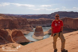 me at Reflection Canyon