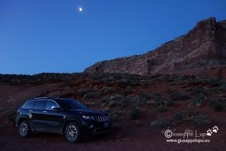 Car Camp at Trailhead to Reflection Canyon