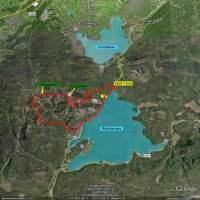 Hiking tour on Google Earth