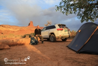 me at  Potato Bottom Camp B  (White Rim Road)
