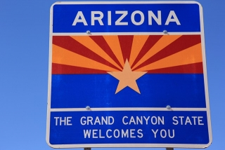 Entering The Grand Canyon State