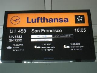 airport Munich departure