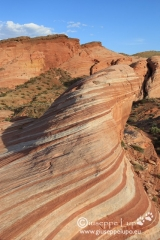 Fire Wave in Valley of Fire S.P.