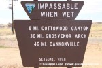 Cottonwood Canyon Road south entrance