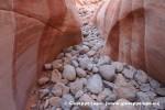 White Domes Slot Canyon detail