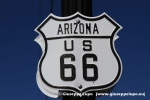 Route 66 sign in Williams, Az