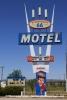 Motel sign in Seligman, Az