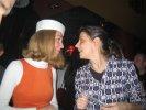Christiane chatting with Ira (one of the Montesitas)
