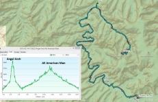 Day 2 Hike (B.C.->Angel Arch->B.C.-AllAmMan->B.C. 18 miles