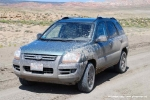 my mud spluttered Kia Sportage V6
