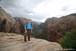 Me at Angels Landing plateau