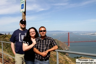 Maurice, Alex and me with Golden Gate in the back